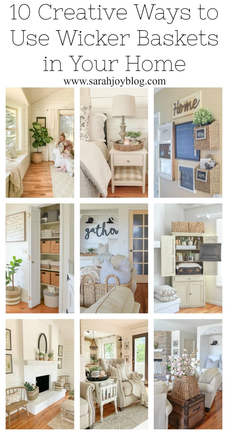 10 Creative Ways to Use Wicker Baskets in Your Hom…