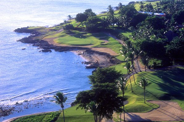 7th hole at Casa de Campo Teeth of the Dog, La Romana, Dominican Republic