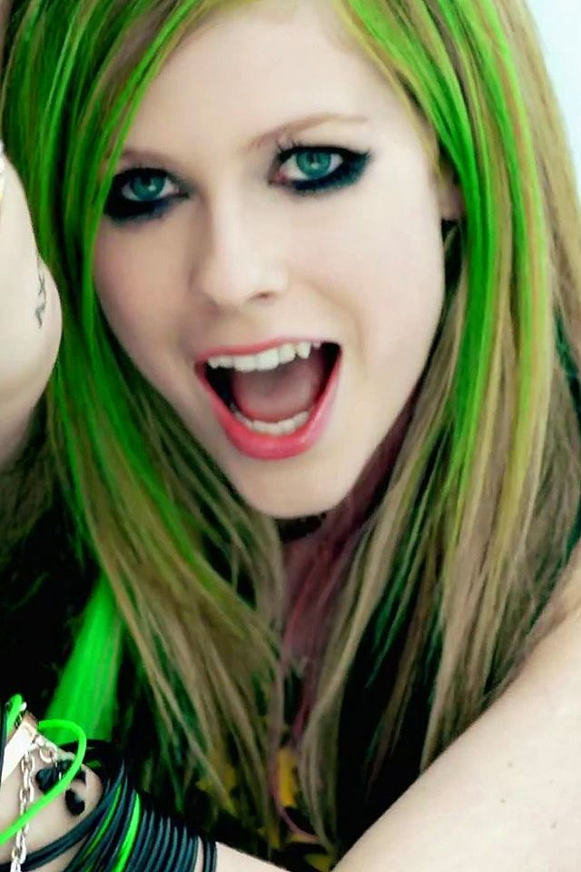 Best Green Hair Streaks Ideas On Pinterest Purple And Green - Green trends change of hairstyle