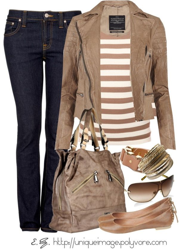 Brown ladies outfit for Fall.. click the pic for more #outfits