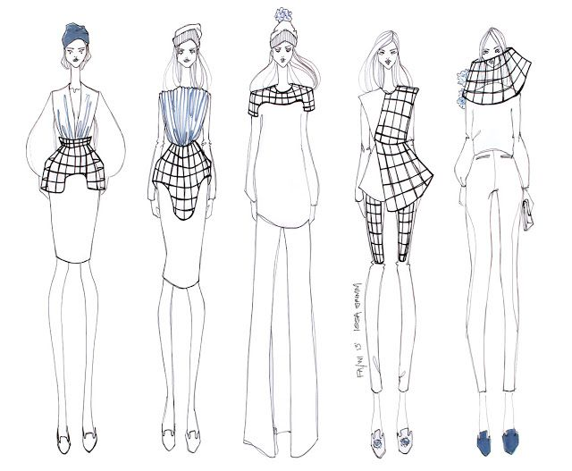 ISSA GRIMM: concept sketches #fashiondesign fashion illustration