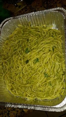 Espagueti Verde- Green Spaghetti