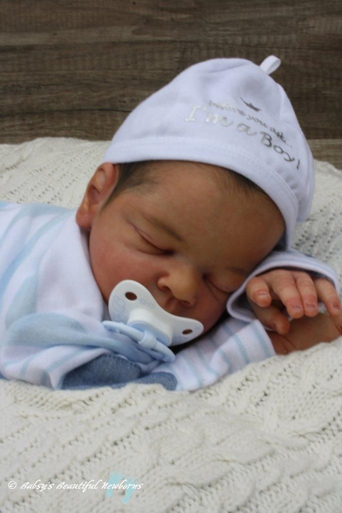 """Reborn Baby """"Lenny"""" - Jack by Tina Kewy LE 53 of 250 Sold out!!! 
