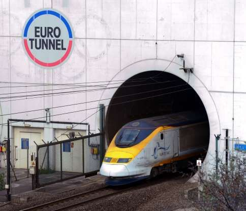 The Channel Tunnel, English Channel: This is among the easiest modern engineering marvels to bag dur... - Denis Charlet, AFP/Getty Images