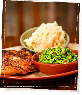 """Nando's USA """"famous for its Portuguese flame-grilled, butterfly‑cut chicken, which is marinated for 24-hours before being basted and cooked in Nando's famous PERi-PERi sauce!"""" In Washington, DC, Maryland, and Virginia."""