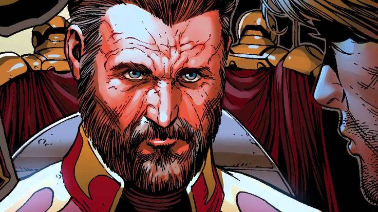 Un repaso por las diferentes versiones de J'son, el padre del líder de los Guardianes de la Galaxia Starlord, Rey de Spartax y líder del imperio Spartoi.