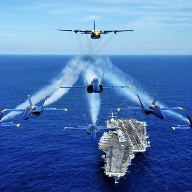 Blue angels.                                                                                                                                                                                 More
