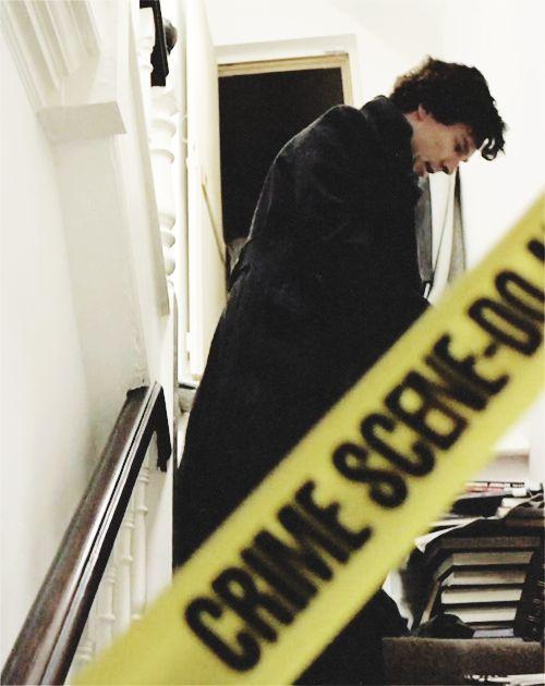 Sherlock. The Blind Banker.