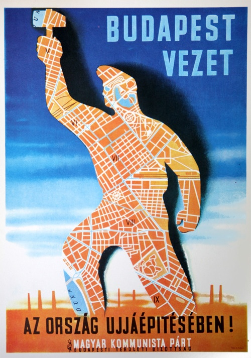 hungarian comunist poster