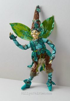 Image of Brucie the Forest Elf Doll