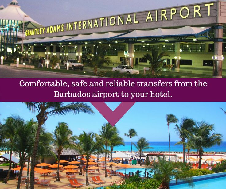 Pre-book your airport transfers for comfortable, safe and reliable taxi service from the Barbados airport to your hotel.