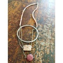 Collana di Opale Rosa