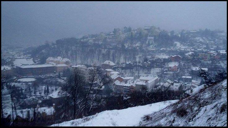 La citadelle de Brasov, Romania