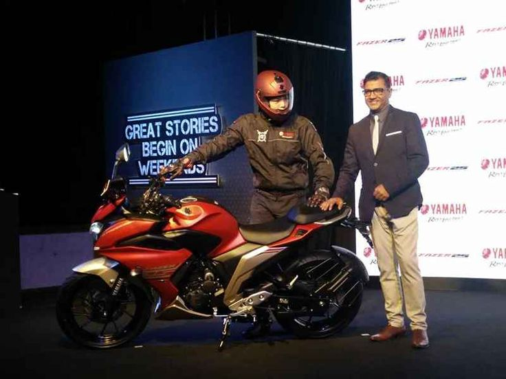 Yamaha Fazer 25 launched in India