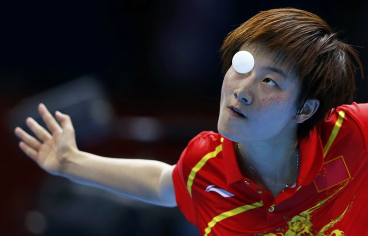 Ding Ning (China). Table tennis finals 2012 Olympic Games