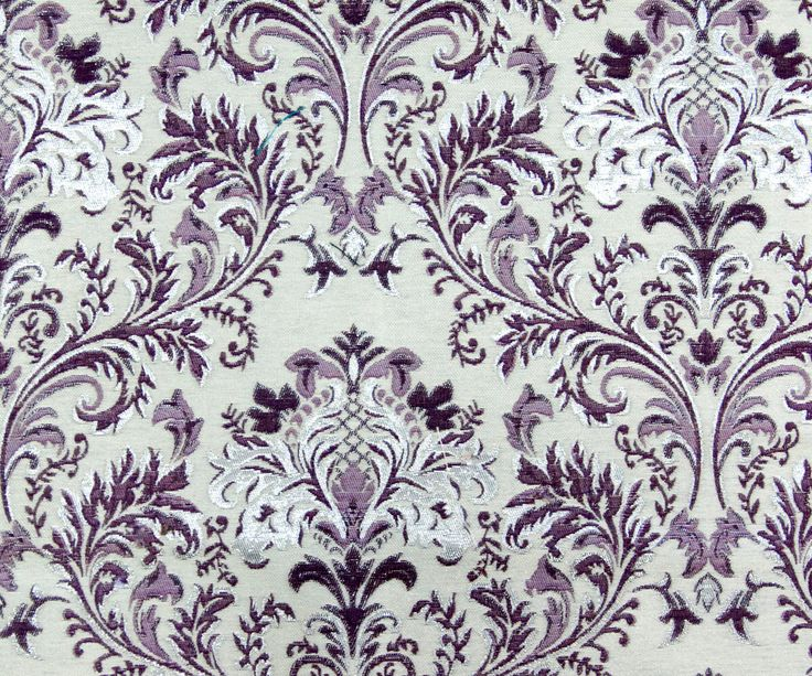 Purple & Silver Damask SO Fabric By The Yard Curtain Fabric Upholstery Fabric Curtain Panel Drapery Fabric Window Treatment Jacquard Weave by FabricMart on Etsy https://www.etsy.com/listing/205825813/purple-silver-damask-so-fabric-by-the