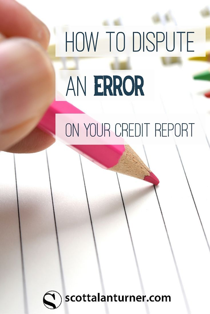 For mom! DIY credit dispute information. Fix your credit report with this simple life hack.