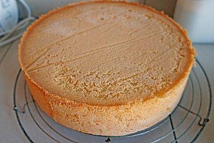 Bäckermeister - Biskuitboden (Rezept mit Bild) von Mumie | Chefkoch.de