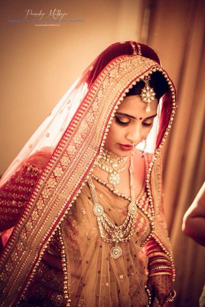 Bridal glory being bride