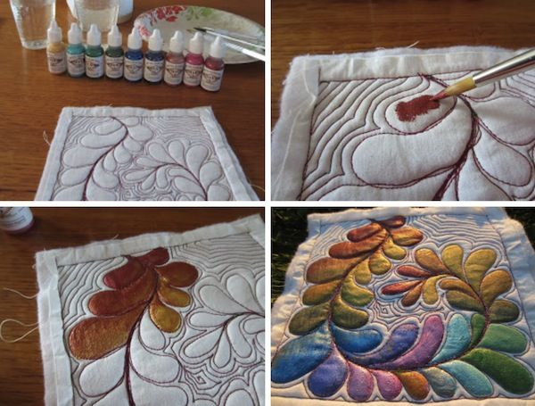 Best 25 painting on fabric ideas on pinterest freezer for What are the different types of painting techniques