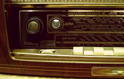 SABA Freiburg Röhrenradio Automatic 3DS Radio