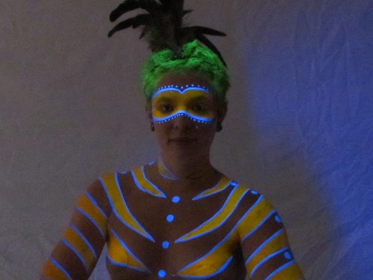 UV Yellow & Blue - Lights All Night 2012