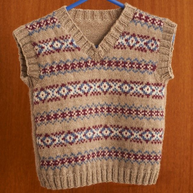 92 best Knitting vests images on Pinterest | Colors, My love and ...
