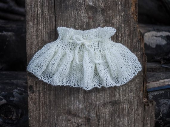 Baby Girl Knitted Skirt Baby Girl Knit Skirt by GabriCollection