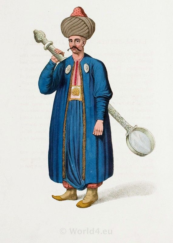 LADLE-BEARER TO THE JANISSARIES.   Ottoman Empire in 1800.