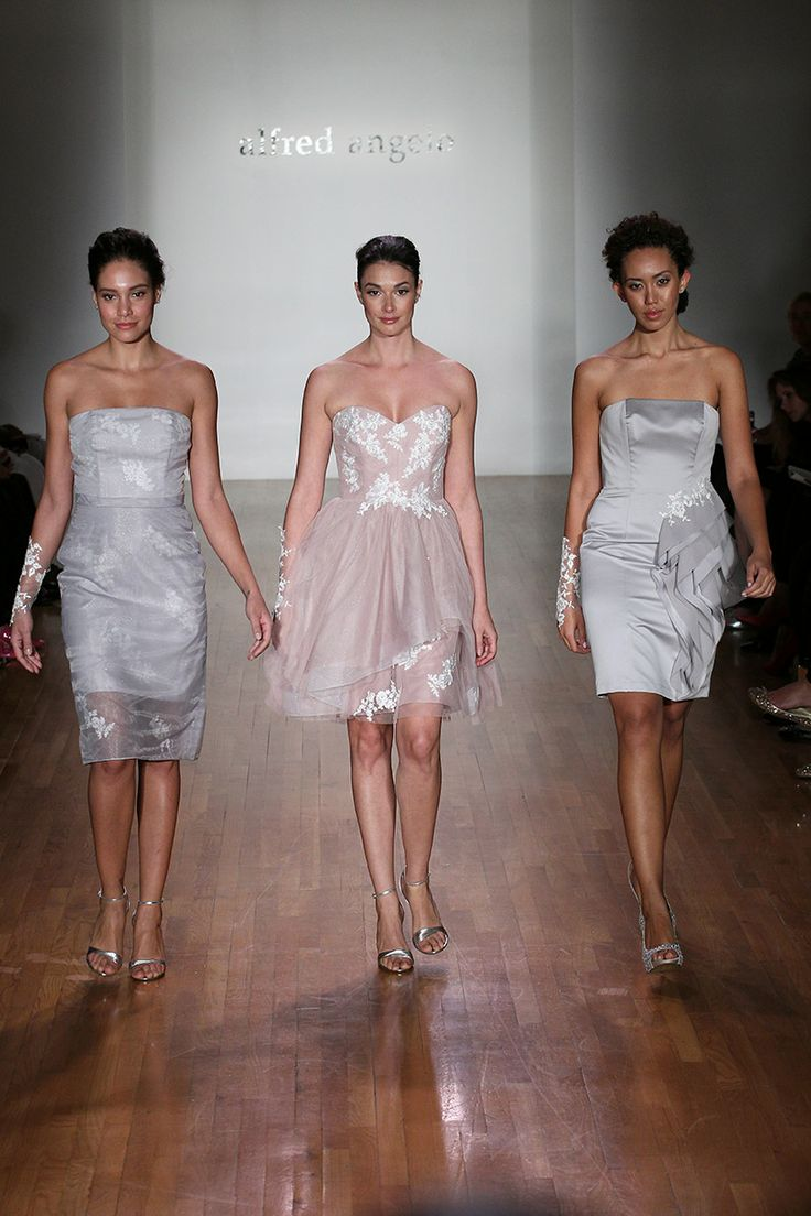 The 25 best alfred angelo bridesmaid ideas on pinterest alfred alfred angelo bridesmaid dresses runway show fall 2014 ombrellifo Image collections