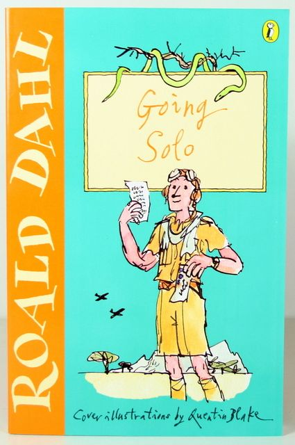 roald dahl going solo stamp - Google Search