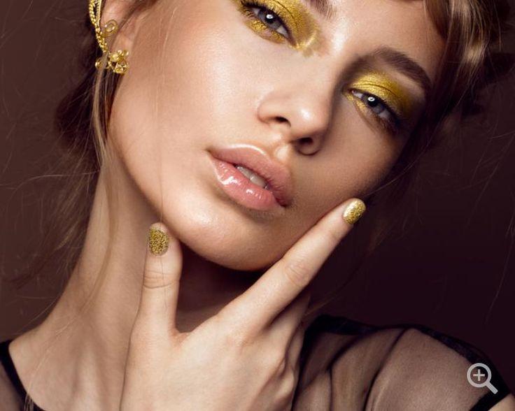 Zopffrisuren: 10 schönsten Zopffrisuren. 10 schönsten Zopffrisuren: Geflochtene Zopffrisur mit dem goldenen Make-up, für bessondere Momente