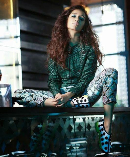 Shraddha Kapoor Glamorous Photoshoot Latest Unseen Photoshoot - Kapoor Cleavage