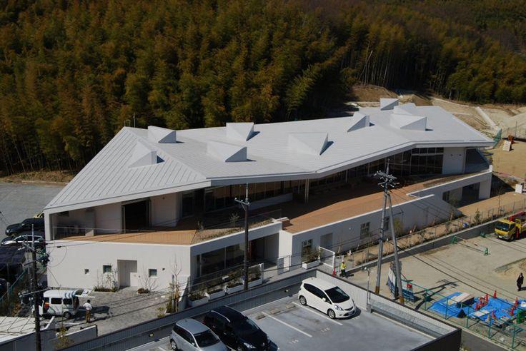 koseki architect office: matsuigaoka nursery school - designboom   architecture