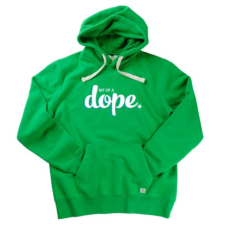 Bit Of A Dope Gent's Hoodie by Hairy Baby