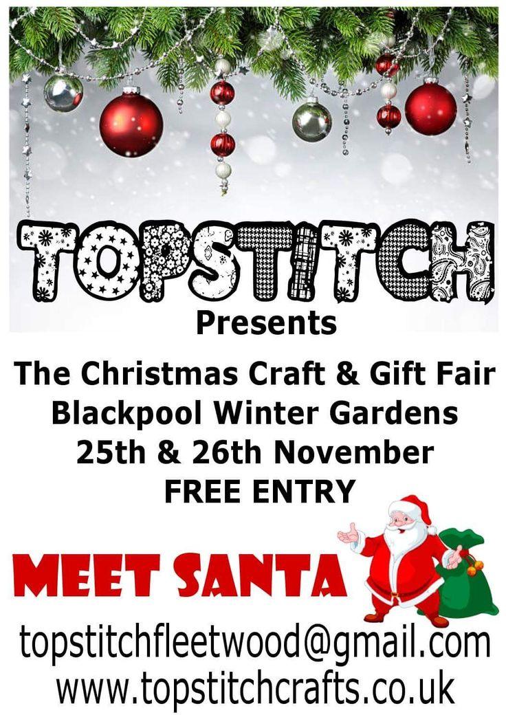 Craft Fair November 25th & 26th.  Winter Gardens Blackpool