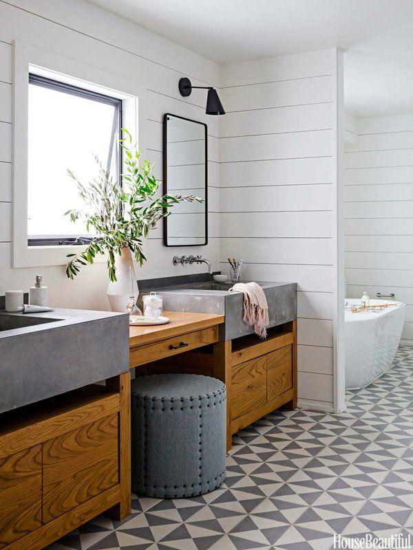 40 propuestas para decorar con azulejos tu baño