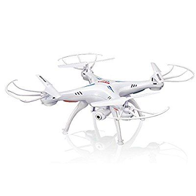 Syma X5SW 4 Channel Remote Controlled Quadcopter with HD Camera for Real Time Video Transmission, 31 x 31 x 10.5cm, White - http://droneanything.com/syma-x5sw-4-channel-remote-controlled-quadcopter-with-hd-camera-for/