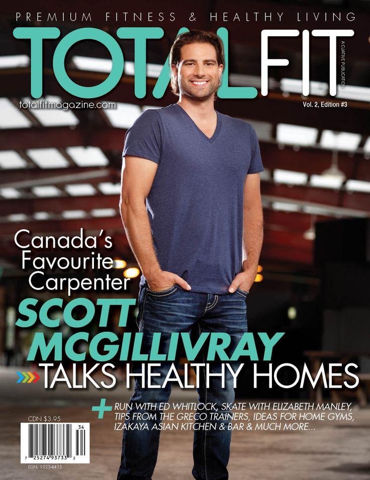 Issue Of Totalfit Magazine Ft Scott Mcgillivray Tony S
