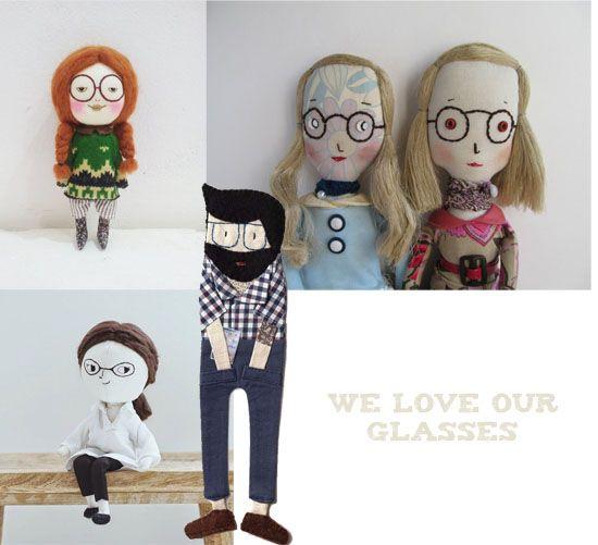 Knuffels à la carte blog: We love our glasses!