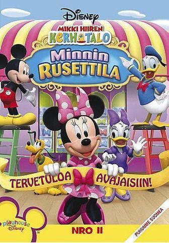 Mikki Hiiren kerhotalo: Minnin rusettila dvd 4,95