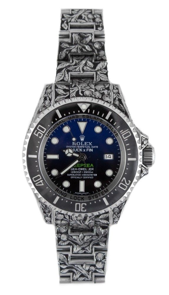 Rolex Sea-Dweller Deepsea - engraved unique piece by Huckleberry LA - Perpetuelle