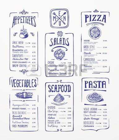 Best 25+ Pizza Menu Design Ideas On Pinterest | Pizzeria Menu