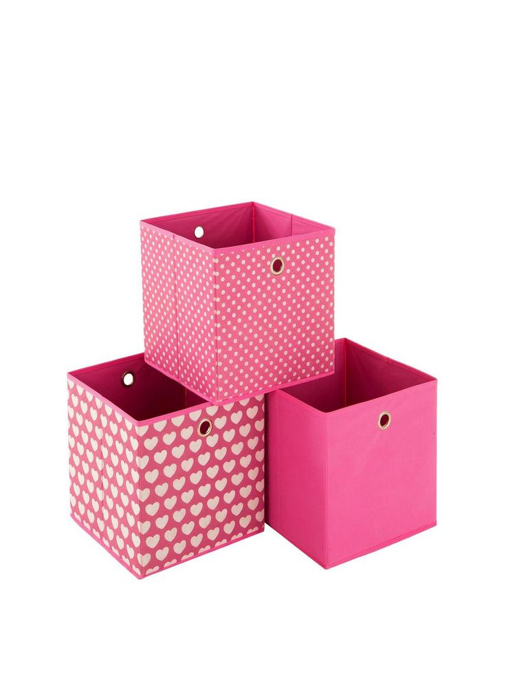 Ideal Hearts Set of 3 Kids Storage Boxes, http://www.littlewoodsireland.ie/ideal-hearts-set-of-3-kids-storage-boxes/1403103557.prd