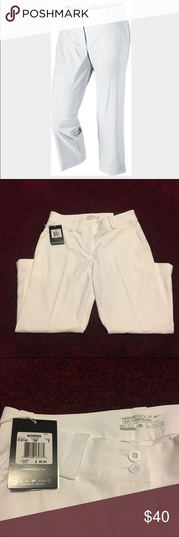 Nike golf cropped pant- women's pants/ capris Women's Nike golf cropped pant. Brand new with tags! Size 6! Feel free to make an offer! Nike Pants