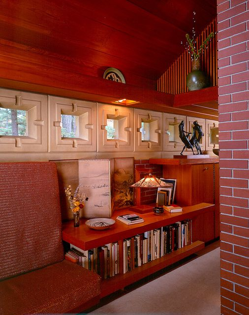 Perfect The Frank Lloyd Wright Designed Zimmerman House Is Owned By The Currier  Museum Of Art In. Usonian HouseZimmermanNew HampshireHistoric ...