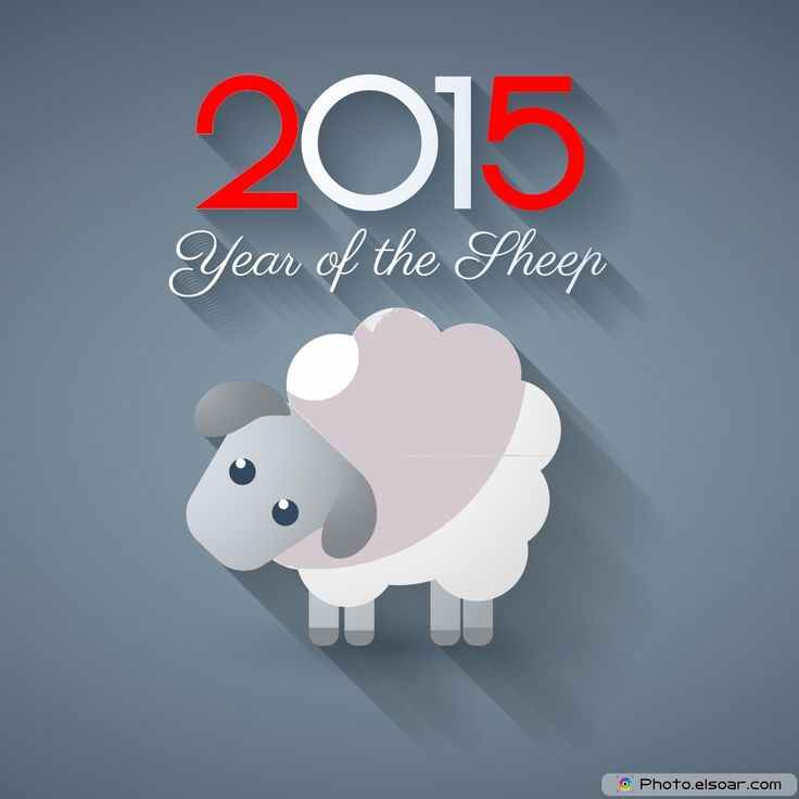 2015 the year of the Sheep!! Wishing you a great year of Sleep!!
