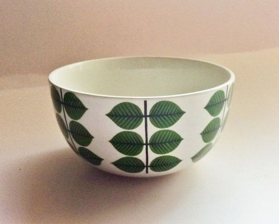 60s swedish Berså bowl Stig Lindberg Gustavsberg Mid by Inspiria