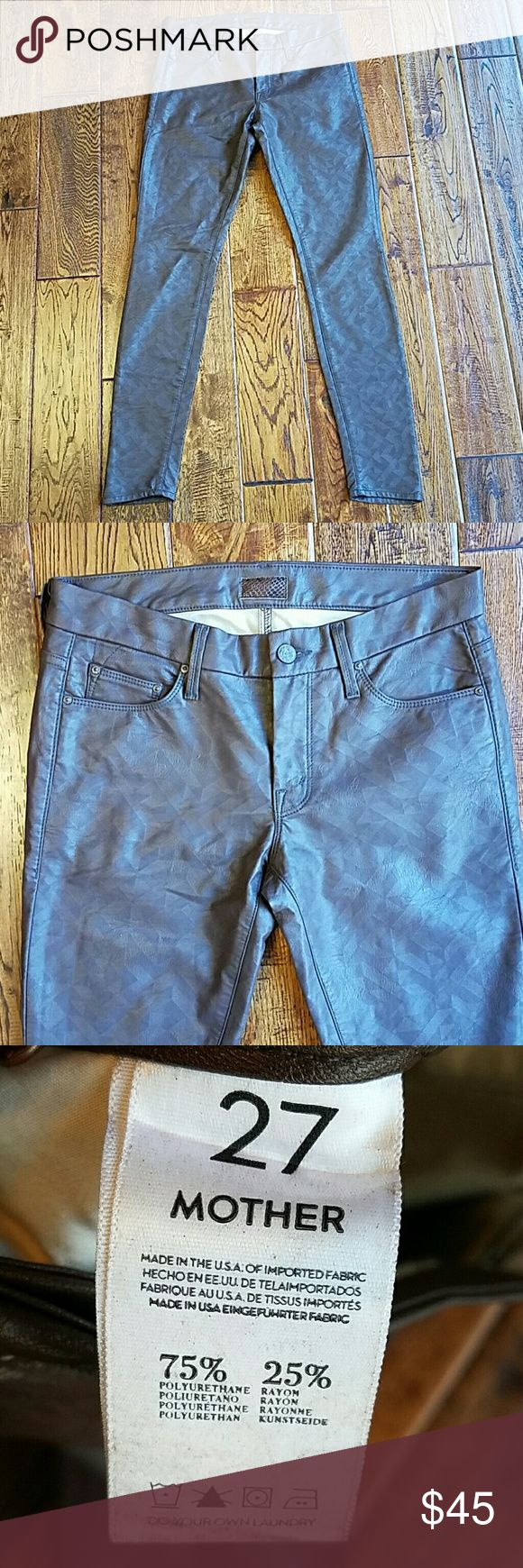 MOTHER coated jeans Great condition MOTHER Jeans