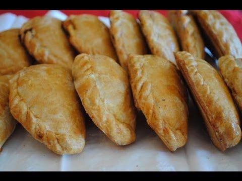 Cómo hacer pastes. Pastes de poro y papa. Pastes de frijol. Receta mexicana. Yuri de Gortari - YouTube